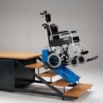 Мобильный гусеничный подъемник для инвалидов Т09 Roby